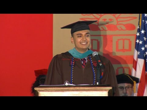 May 2016 Brown University Graduate School Master's Ceremony