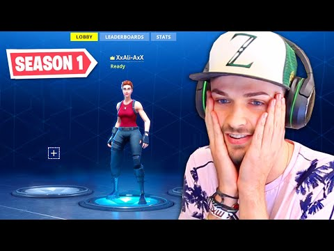 Playing Fortnite SEASON 1 In 2019!