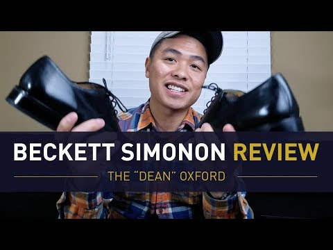Beckett Simonon Dean Oxford Review | Why You Need One Black Shoe