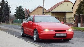 Opel Calibra Turbo C20LET umbau project 2014 Hungary