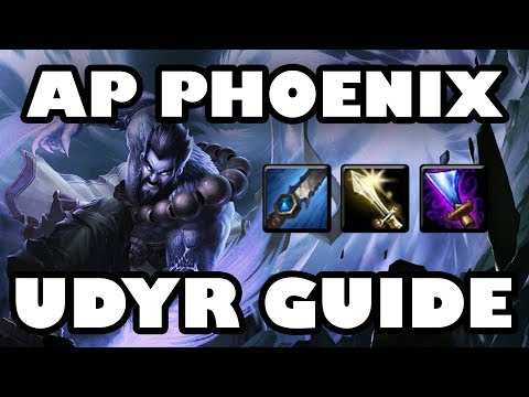 AP Phoenix | Lethal Tempo DPS Udyr Jungle Guide [7.24]