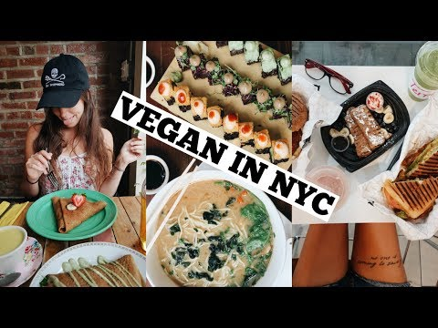 WHAT I ATE IN NEW YORK CITY // EPIC VEGAN FOOD VLOG
