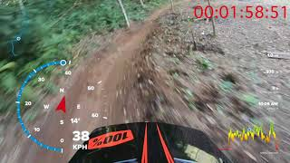 Patar Bike Park Ride By Ary Gwin with Speedometer and GPS
