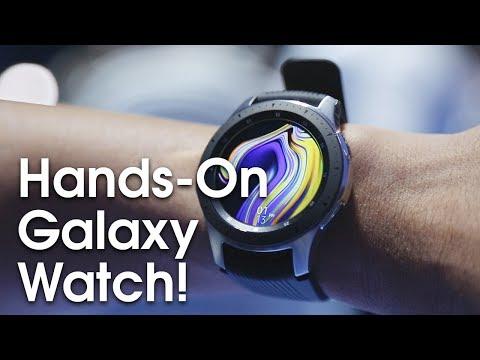 Samsung Galaxy Watch Hands-On!