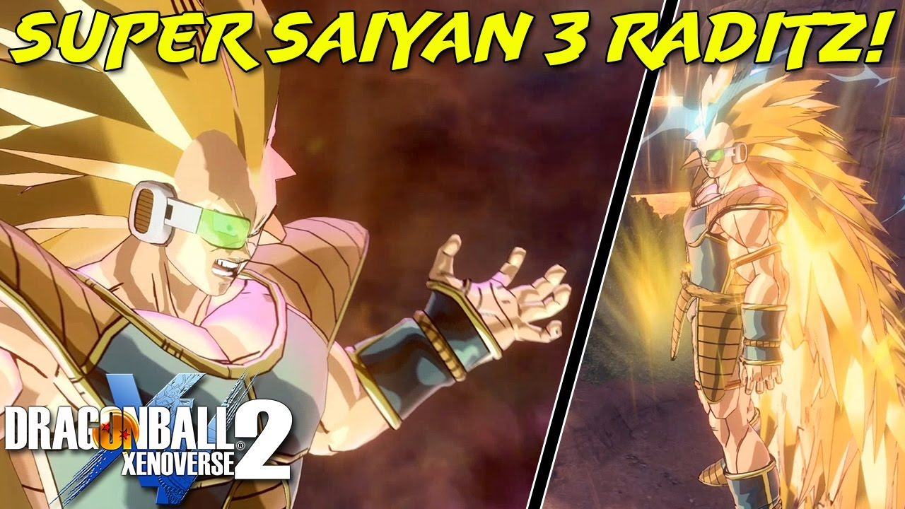 Super Saiyan 3 Raditz Dragon Ball Heroes Dragon Ball Xenoverse