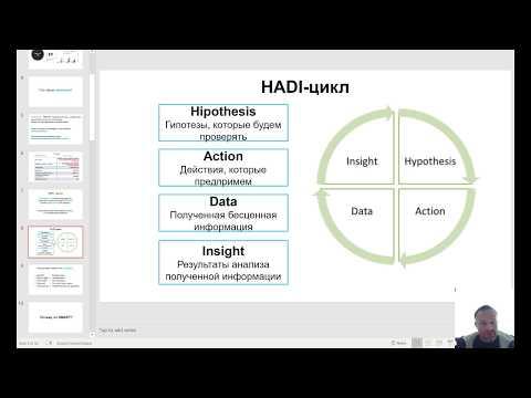 HADI циклы. Как правильно формулировать гипотезы для роста бизнеса. Павел Рысков