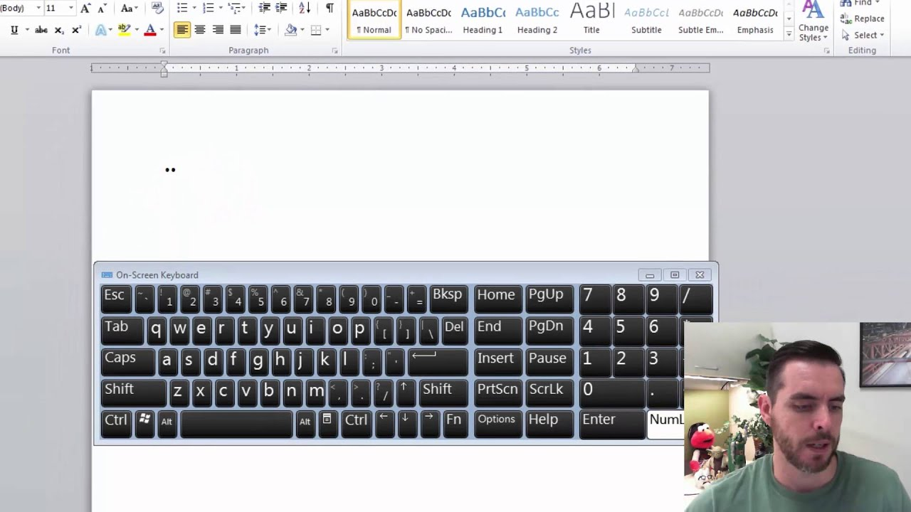 How to make a bullet point using the alt key youtube how to make a bullet point using the alt key biocorpaavc Choice Image