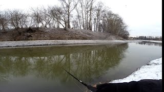 Весенняя рыбалка 2020 на Малой реке Часть 1