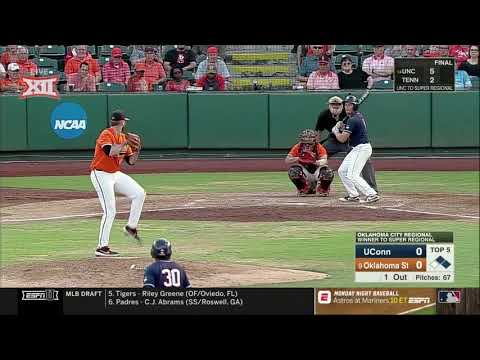 Oklahoma State vs. Connecticut NCAA Baseball Highlights – Game 2