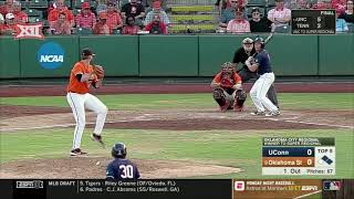 Oklahoma State vs. Connecticut NCAA Baseball Highlights - Game 2
