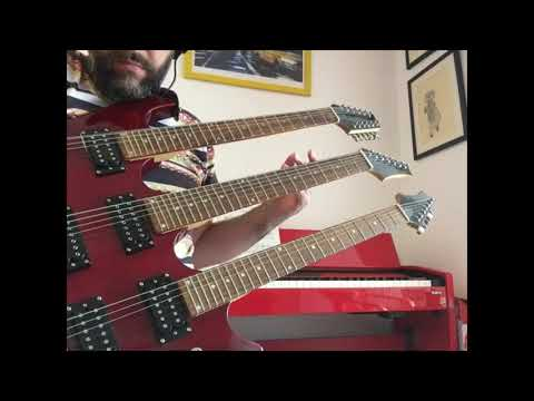 Triple Neck Guitar (it's A Monstrosity)