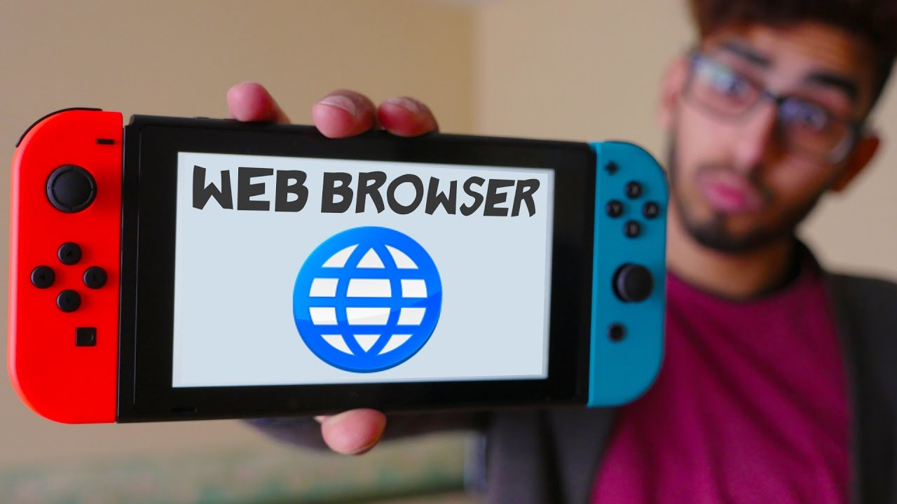 Nintendo Switch Secret Web Browser (Facebook) - How To