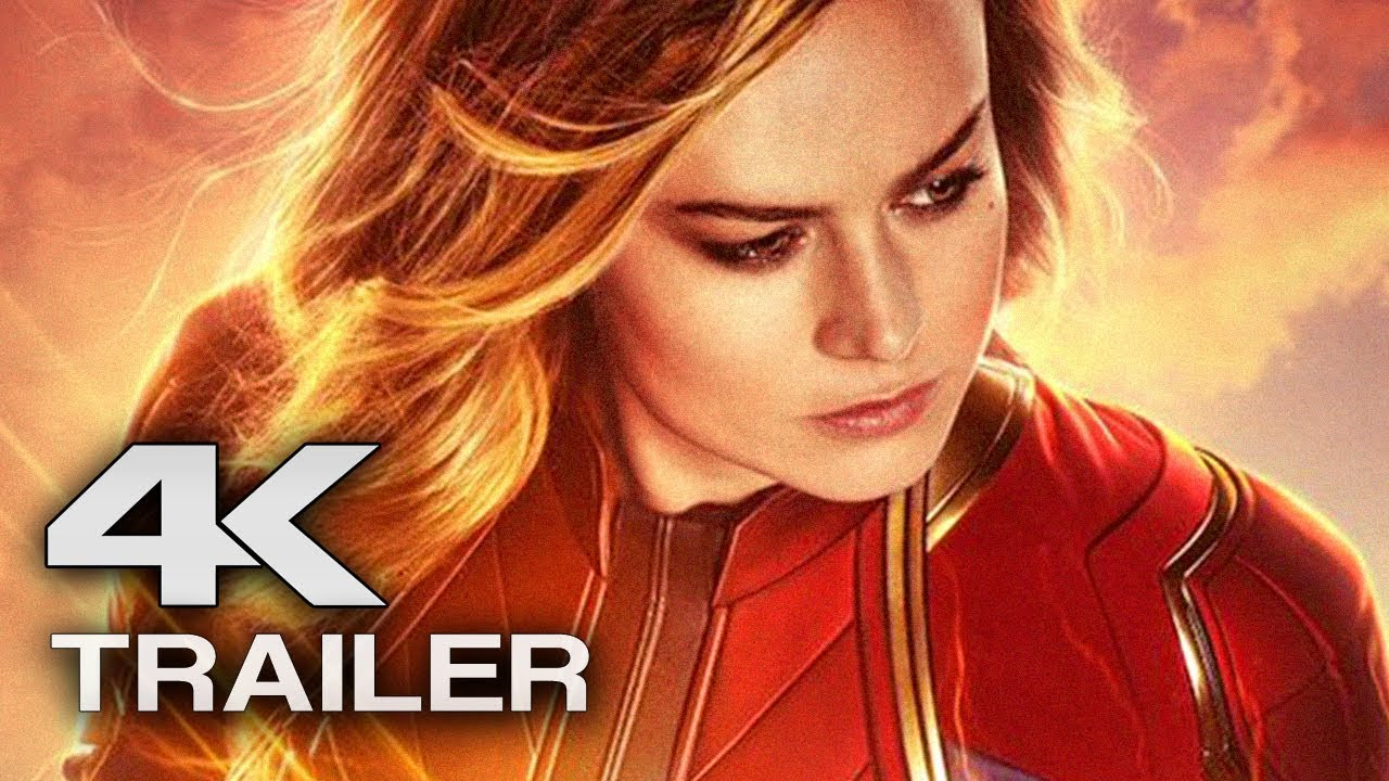 Download CAPTAIN MARVEL Trailer 3 (4K ULTRA HD) 2019 - Brie Larson Superhero Movie