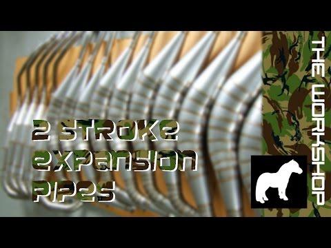 How 2 stroke exhausts work