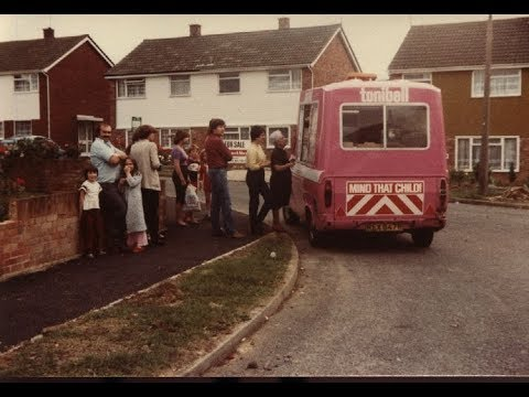 Tonibell ice cream round in Bletchley in the summer of 1981