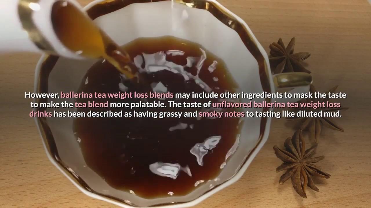 a balerina tea miatt lefogy)