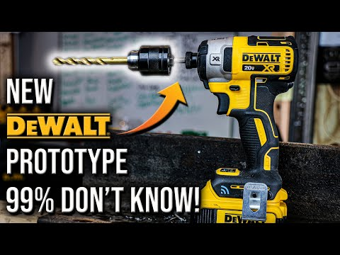 DeWALT Tools New Impact Driver PROTOTYPE That 99% Of People Don't Know About!