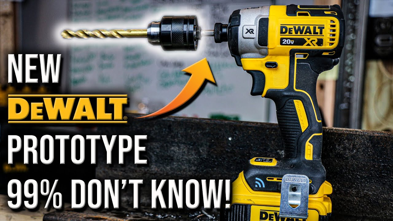 Best Impact Driver 2020.Dewalt Tools New Impact Driver Prototype That 99 Of People Don T Know About
