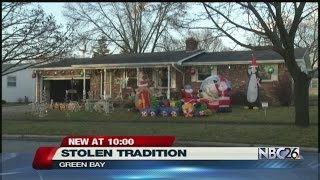 Stolen yard decorations tied to family tradition