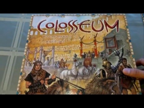 Colosseum Board Game Review [Vancouver Gamers]