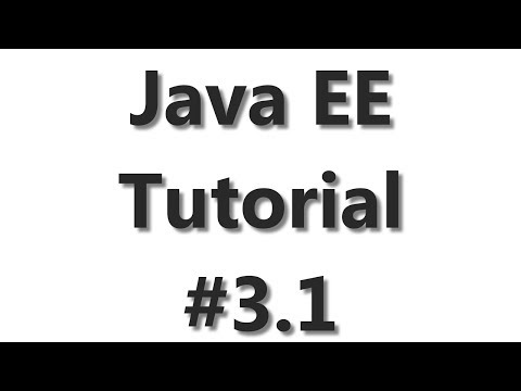 Java EE Tutorial #3 - JPA Database Connection Part 1