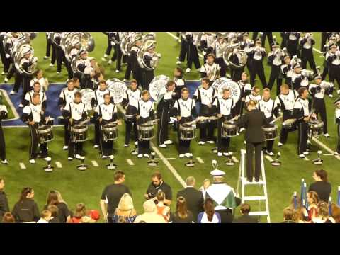 Ohio University Marching 110 Post Game at Highland Heights HS 9/21/18