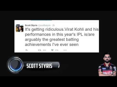 Twitter reactions to the VIRAT KOHLI 4th century in the IPL || KOHLI  113 RUNS  IN JUST 50 BALLS