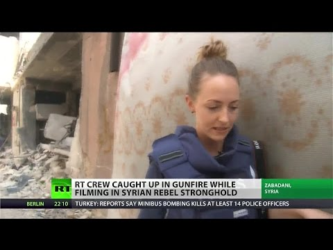 RT correspondent caught in the crossfire in Syria