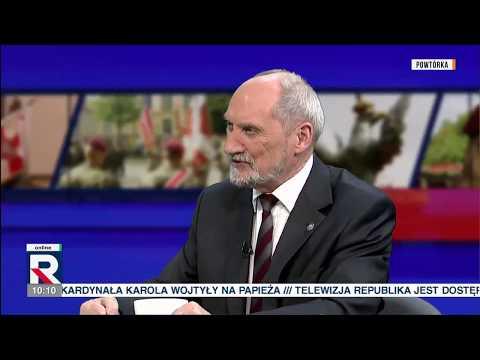 """A.Macierewicz """"sądy są zablokowane m.in. przez PO i Tuska"""" 16.10.2018"""