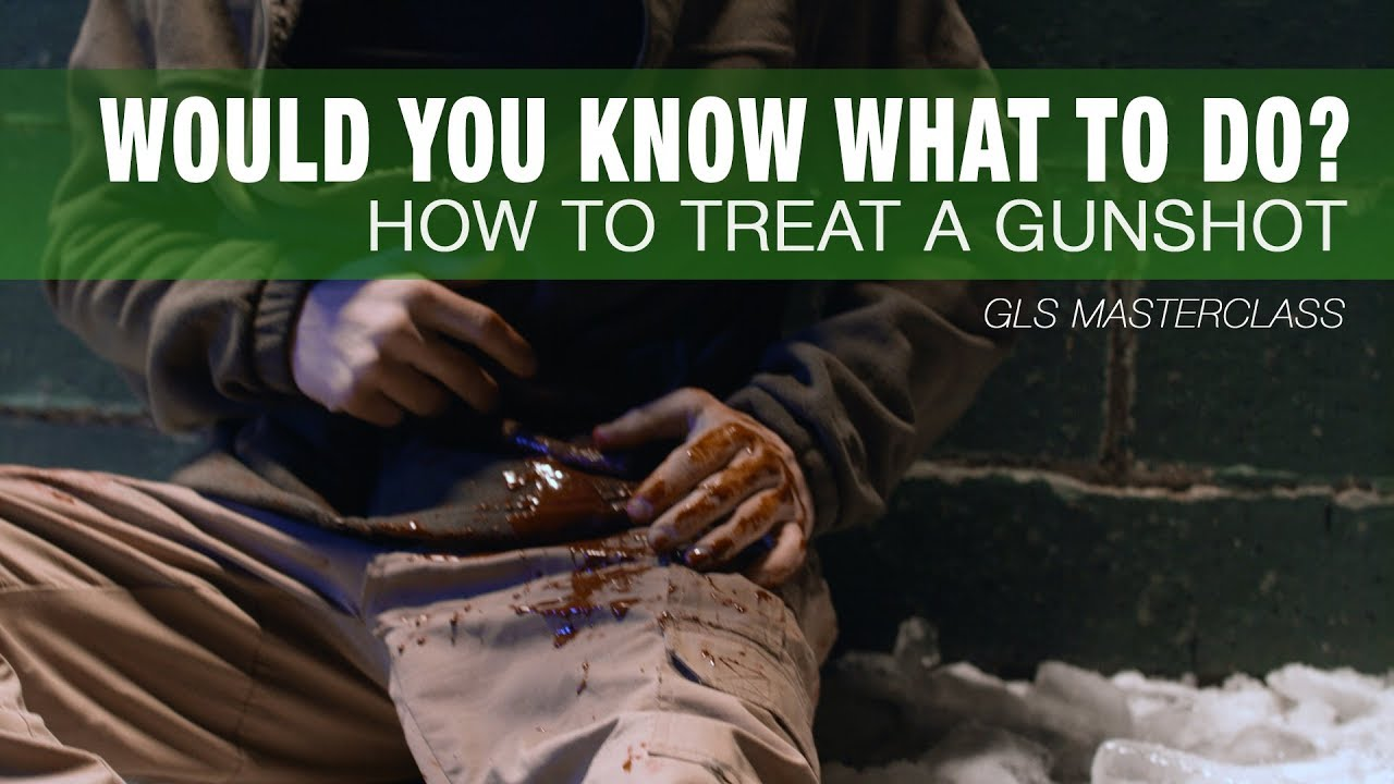 How To Treat a GUNSHOT WOUND - Stay Alive Until Help Arrives