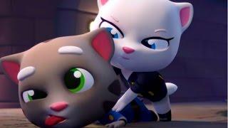 Мой говорящий ТОМ #145 Том и друзья  Мой виртуальный питомец  ИГРА МУЛЬТИК про котиков #УШАСТИК KIDS
