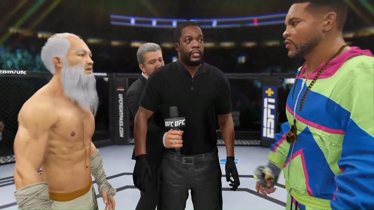 UFC 4 - Old Bruce Lee vs. Fresh Prince - Crazy UFC 👊🤪
