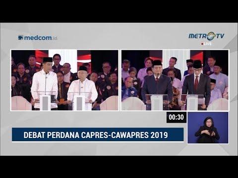 Debat Pilpres 2019 Part 5 - Jokowi Mendebat Prabowo Soal Terorisme Mp3