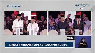 Debat Pilpres 2019 Part 5 - Jokowi Mendebat Prabowo Soal Terorisme