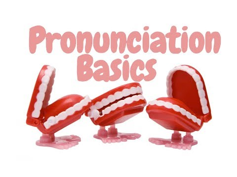 Jon-Eric's class Pronunciation Basics - International Phonet