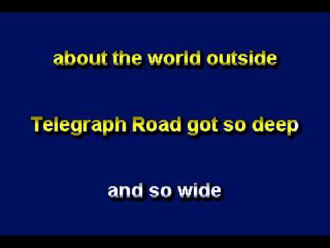 Telegraph Road by Dire Straits - Karaoke by Allen Clewell