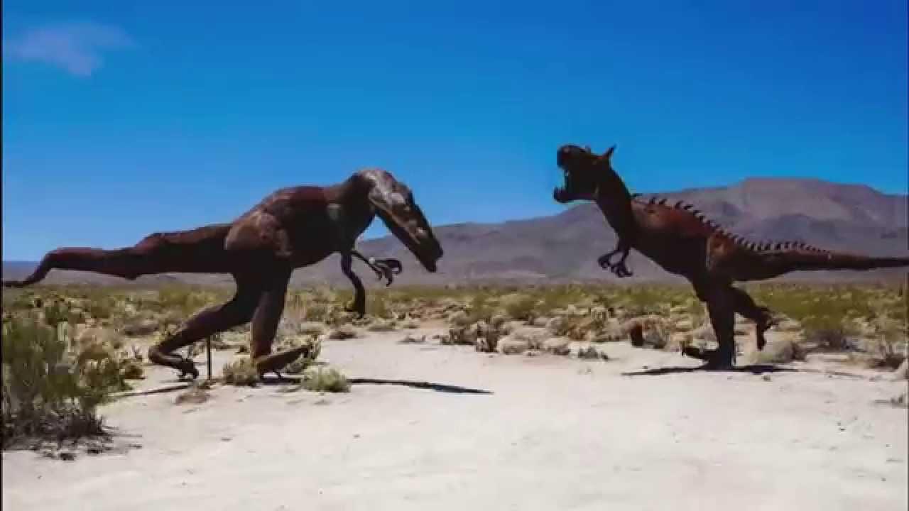 Dinosaur Sculptures Of Galleta Meadows Estate Anza