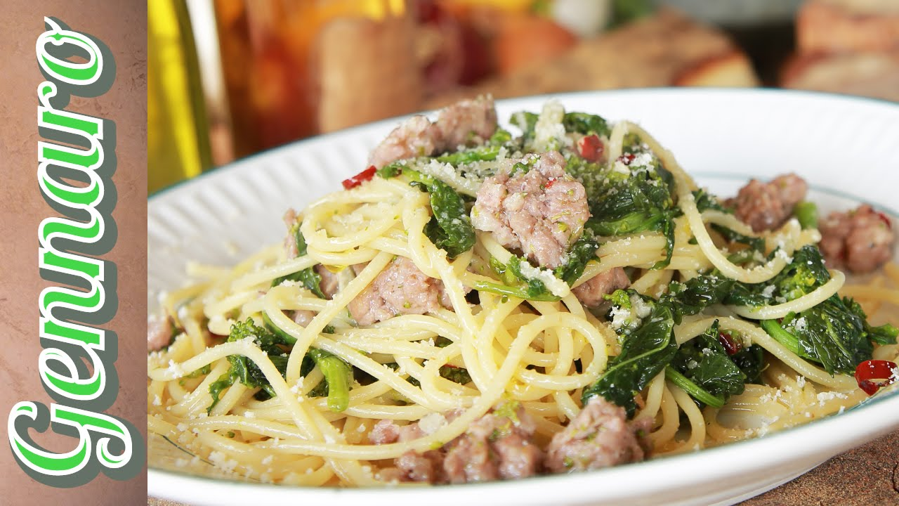 Simple Sausage Spaghetti | Amalfi Coast