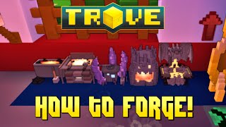 Scythe's Trove Equipment Forging Tutorial ✪ HOW TO GET RADIANT GEAR!