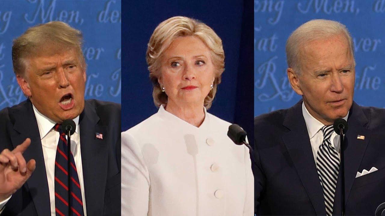 Hillary Clinton REACTS to Joe Biden Telling Donald Trump to 'Shut Up'