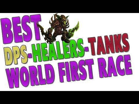 7.3.5 BEST DPS | HEALER | TANK CLASSES - World First Race(Method/Limit/Exorsus) | Top Classes Ranked