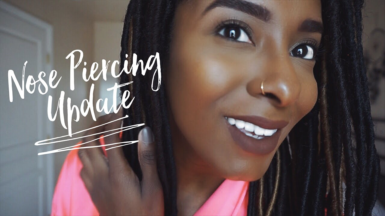 Nose Piercing Update Jewelry Healing Keloids Vloggest