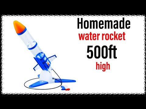 How To Make A Powerful Water Rocket/diy Water Rocket