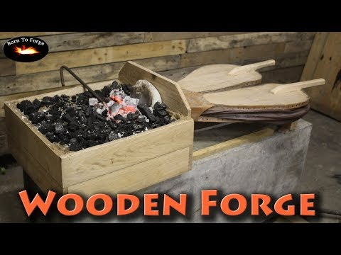 BorntoForge - Wooden Blacksmiths Forge