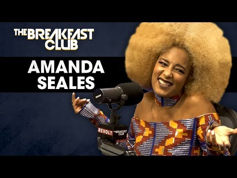 Amanda Seales On Male Insecurities, Russell Simmons, Colorism In America + More