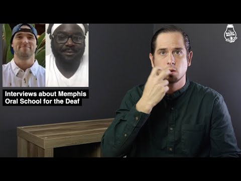 Interviews about Memphis Oral School for the Deaf