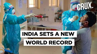 India Records World's Highest Single-Day Rise In Covid-19 Cases