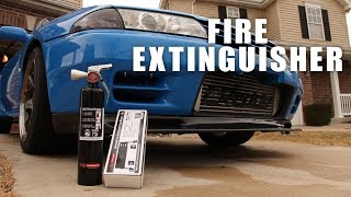 Fire Extinguisher Install | R32 Skyline Seat Rail Mount