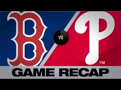 Vazquez goes yard twice in Boston's 6-3 win | Red Sox-Phillies Game Highlights 9/15/19