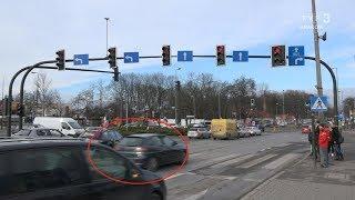 Jedź bezpiecznie odc. 735 (Czerwone światło. Trudne miejsce w Myślenicach.)